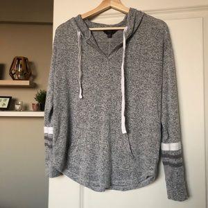 41 Hawthorne brushed knit hoodie